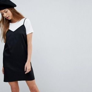 ASOS DESIGN Mini Cami Slip Dress